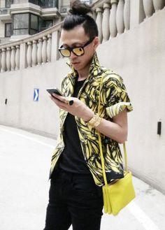 men style....yellow <3