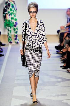 NY Fashion Week '12 Diane von Furstenberg