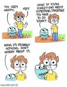 """14 Times Owlturd Comix Totally Nailed The Struggles Of Life - Funny memes that """"GET IT"""" and want you to too. Get the latest funniest memes and keep up what is going on in the meme-o-sphere. Stupid Funny, Funny Cute, The Funny, Funny Relatable Memes, Funny Jokes, Hilarious, Funniest Memes, Cute Funny Cartoons, Funny Stuff"""