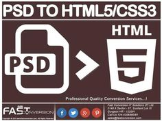 PSD to HTML5/CSS3 – Web Design Conversion by fastconversion via authorSTREAM