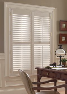 Plantation Shutters Add A Touch Of Classic Elegance To The Home Office Budget Blinds Of Sash Windowsbedroom