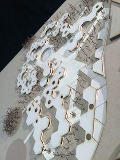 #albergue #infantil #arquitectura #modular #hexagonos #clusters #matbuilding