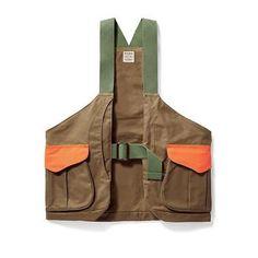 Vests 178080: Filson Shelter Cloth Strap Vest (Super Tan.Blaze.Orange) 20020029-974 -> BUY IT NOW ONLY: $225 on eBay!