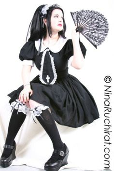 Hey, I found this really awesome Etsy listing at http://www.etsy.com/listing/84919358/gothic-lolita-dress-cute-schoolgirl