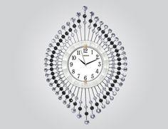 Sıradışı Tasarım Ferforje Duvar Saati  Ürün Bilgisi;  Ürün resimde olduğu gibidir Metal gövde Gerçek cam Sessiz akar saniye Çap : 75 cm Gayet şık ve hoş duvar saati
