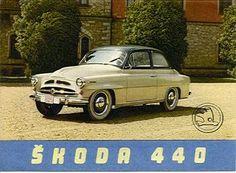 Skoda 440 Car Posters, Spartacus, Car Advertising, Car Makes, Car Brands, Car Pictures, Car Pics, Sport Cars, Old Cars
