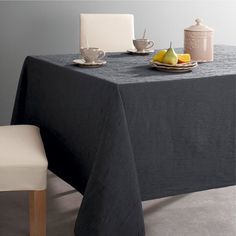 FROISSÉE Crinkle-Look Tablecloth