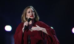 Adele Tears Up After Revealing Her Son Was Watching Her Perform For The First Time