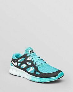 Women's Nike Free Run  2 Sport Turquoise/Black/Fiberglass