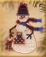 Gift Snow Charmer - Cross Stitch Kit