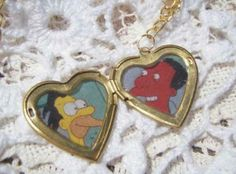 Lenny and Carl in a locket... my mext tattoo