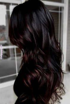 Hairstyles for you saved in Ombre hair color ideas for . - hair and beauty - Hairstyles for you saved in Ombre Hair Color Ideas for … - Best Brunette Hair Color, Ombre Hair Color For Brunettes, Brown Ombre Hair, Hair Color Balayage, Brunette Ombre, Balayage Hair Dark Black, Dark Brunette Hair, Dark Brown Hair With Highlights And Lowlights, Cherry Brown Hair
