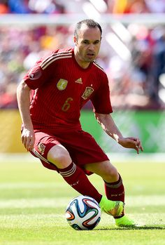 Andres Iniesta #Spain #España