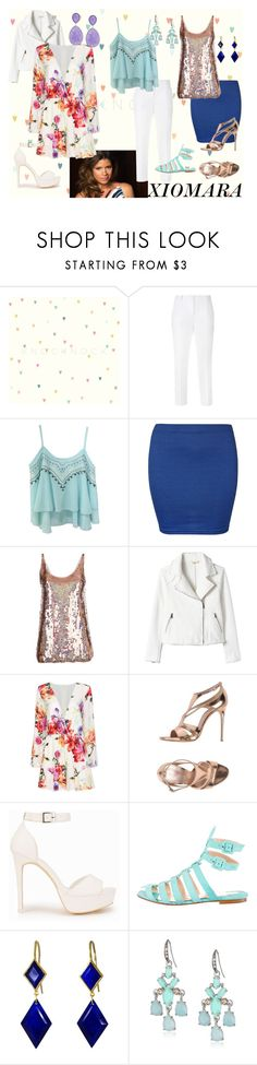 """""""Xiomara Villanueva from Jane The Virgin"""" by statementsinbasements ❤ liked on Polyvore featuring Dolce&Gabbana, WearAll, STELLA McCARTNEY, Rebecca Taylor, Casadei, Nly Shoes, Christian Louboutin, Marie Hélène de Taillac and Carolee LUX"""