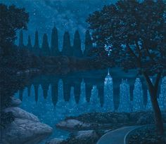 surreal optical illusion paintings by rob gonsalves (5)