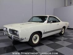 This particular 1968 Barracuda Formula S is dressed in the unusual notchback body style shows just 20480 original miles on the clock and is 100% numbers matching throughout.