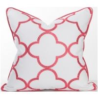 Palm Beach Collection - Whitehall Hibiscus Pillow