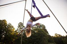 Aerial Sling Silk Hammock Kama Fitness