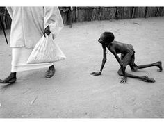 Pulitzer Prize - Kevin Carter. How are such pictures possible in our world of exuberant prosperity? We are just too good in closing our eyes.