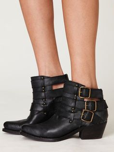 """One of the cutest pair of ankle booties this season...""""flat"""" ankle booties :)"""