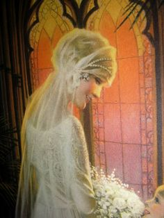 Closeup Of The Bride Print by Gene Pressler That I Just Bought.