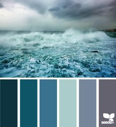 Stormy Blues design seeds