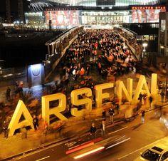 Ashburton Grove, Stadium of Arsenal FC
