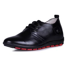 Black  elevation shoes 5.5cm / 2.17 inch with the SKU:MENJGL_C152 - Black men lift casual shoes become taller 5.5cm / 2.17inches