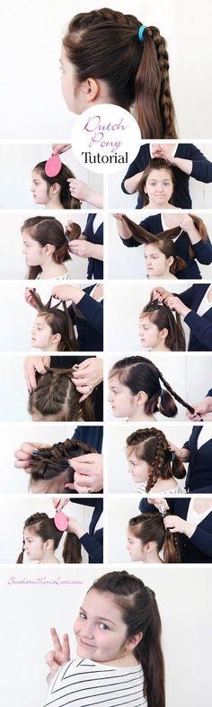 3 of My Favorite Hairstyles {Tutorials, Tools, Tips & Tricks}
