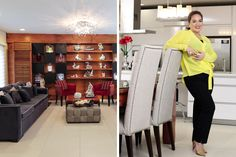 The modern eclectic property found in a hilly subdivision in the North serves as place of healing and new beginnings for the actress and her family Celebrity Houses, Resort Style, House Tours, Oasis, Home And Family, Makati, Architecture, Filipino, House Styles