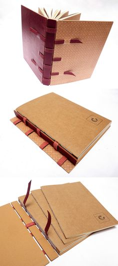 livro recarregavel, capa crisscross, com miolo substituivel, no Canteiro de Alfaces