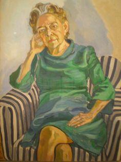 Alice Neel.  Love love love her portraits.