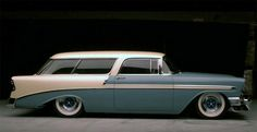 Chevy Nomad. If I ever have to be a fucking socker mom, doing it in this would make the whole thing a lot less painful.