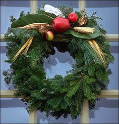 Christmas Wreath from Colonial Williamsburg
