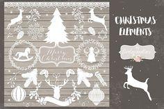 19 Christmas Elements From DesignBundles