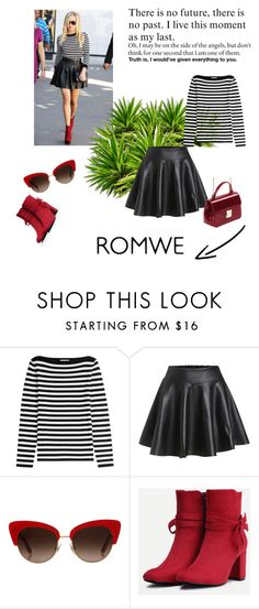 """Romwe 4"" by zerina913 ❤ liked on Polyvore featuring Michael Kors, Dolce&Gabbana and romwe"