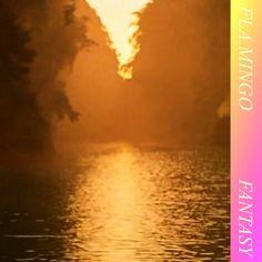 Fantasy, by Fla. Cc Music, Band Camp, Brighten Your Day, Flamingo, Clouds, Fantasy, Album, Vaporwave, Fantasia