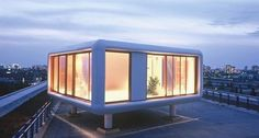 Loftcube: Tiny Prefab Homes for Urban Roofs...with prices starting at 139k it's not on my list, but the styling is quite nice.