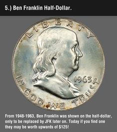 Funny pictures about These 8 Valuable Coins May Be Hiding In Your Change. Oh, and cool pics about These 8 Valuable Coins May Be Hiding In Your Change. Also, These 8 Valuable Coins May Be Hiding In Your Change photos. Rare Coins Worth Money, Valuable Coins, Valuable Pennies, Rare Pennies, American Coins, Error Coins, Coin Worth, Coin Values, Half Dollar