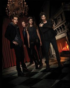 Vampire Diaries - villainous creatures become good just to do villainous things. Best vampire concept and series currently on screen.