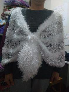 Crochet Wedding Dress Pattern, Crochet Wedding Dresses, Wedding Dress Patterns, Crochet Projects, Elsa, Fur Coat, Crochet Patterns, Stitch, Knitting