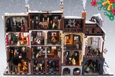 Victorian London Christmas LEGO Set