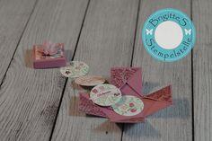 Meine Reitstunden-Idee: Girlandenbox zum Geburtstag - Brigittes Stempelstelle Alles rund ums Basteln mit Stampin Up Produkten