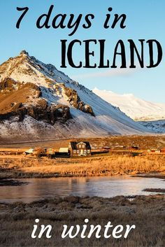 Great post about visiting Iceland in winter!