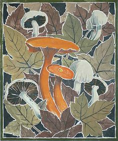 Autumn Fantasy - WILLIAM S. RICE, woodcut