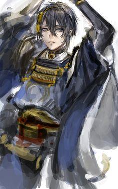 埋め込み画像への固定リンク Boy Character, Character Design, Touken Ranbu Nakigitsune, Otaku, Japanese Sword, Fan Art, Manga Illustration, Anime Eyes, Anime Fantasy