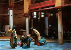 Prayer in the Mosque - Jean-Leon Gerome