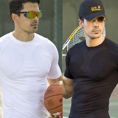 Spandex Men Workout Muscle T shirt Compression Base Layer Shirts Slim Fit Mens Bodybuilding Fitness Camiseta