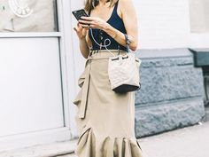 Shop the best midi skirt style out there right now, and find out why this editor loves it so much.