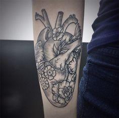 Tattoo tatuagem botânica Elissa Rocabado <3